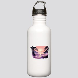 TROPICAL SUNSET [2] Stainless Water Bottle 1.0L
